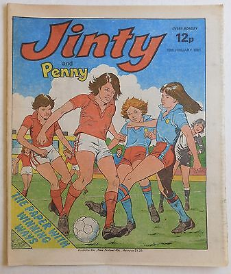 JINTY & PENNY Comic - 10th January 1981