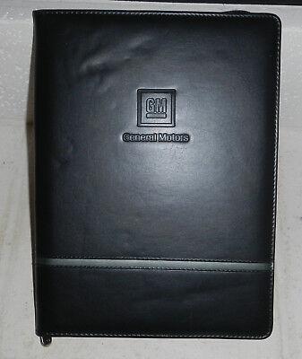 General Motors Gm Automotive Logo Leather Padfolio Organizer Notebook By Dart