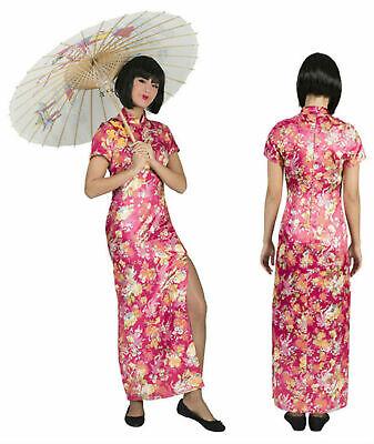 Chinesin Kostüm Damen Geisha Kleid Japanerin Asiatin Gr.36-46 Karneval - Damen Geisha Kostüm