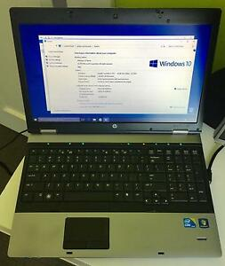"Laptop HP ProBook 15"" Core i3 2.53GHz Moonah Glenorchy Area Preview"