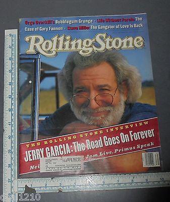 GRATEFUL DEAD JERRY GARCIA ROLLING STONE MAGAZINE 1998