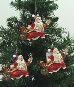 Father Christmas Ornament Ebay