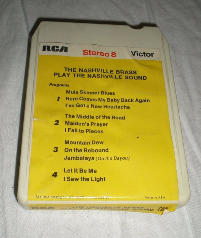 The Nashville Brass - Play The Nashville Sound - 8 Eight Track Tape