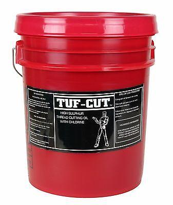 5 Gallon Tuf-Cut™ Dark Pipe Thread Cutting Oil use w RIDGID® 41600 300 535 1224