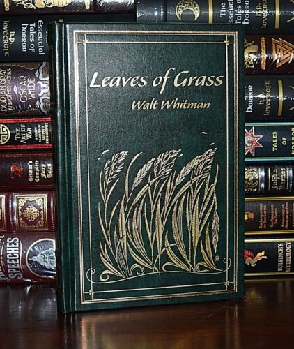 Leaves of Grass by Walt Whitman New Leather Bound Collectible Hardcover Gift