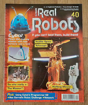 Ultimate Real Robots Magazine Issue 40 - Hubble Space Telescope