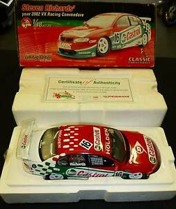 2002 VX RACING COMMODORE 1.18 SCALE WITH CERTIFICATE 844/1000 Campbelltown Campbelltown Area Preview