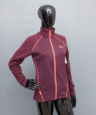 KARI TRAA Jacket Zip Fleece Top Sweatshirt Mid Layer S BNWT