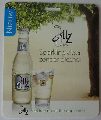 Werbeschild - Bier - Heineken - Apfelwein - Jillz - alkoholfrei