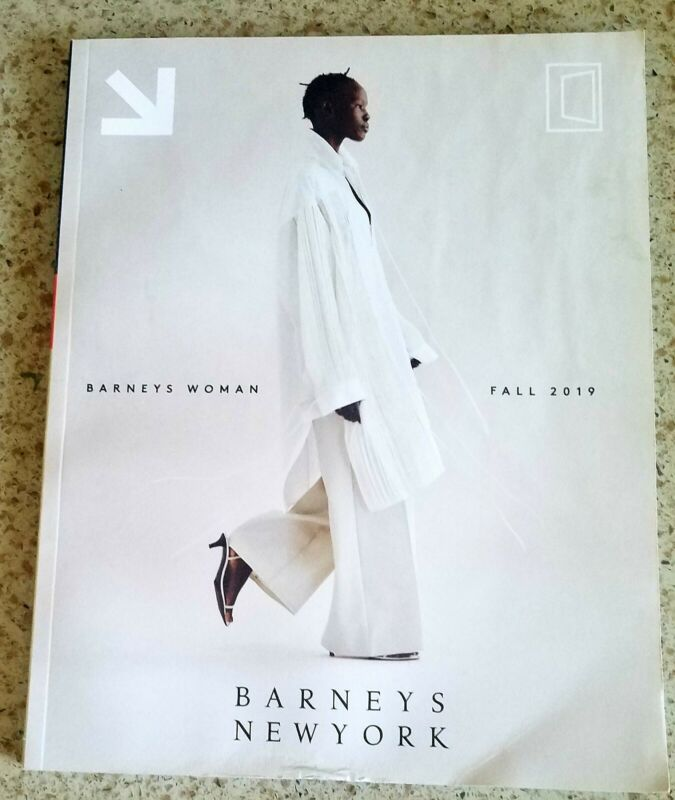 Barneys New York Woman Fall 2019 Last Catalog Store closed Collectible Issue