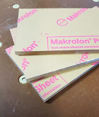 Clear Polycarbonate Sheet 24 X 3.5 X 38 Lexan Makrolon 2 Pack