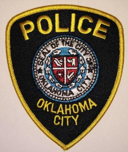 Oklahoma City Oklahoma Police Patch /// FREE US SHIPPING !