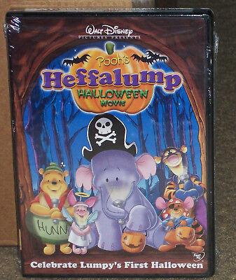 Pooh's Heffalump Halloween Movie DVD New Genuine Disney - New Disney Halloween Movies