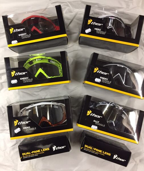 THOR GOGGLE LENS DEAL. SPARES 50% OFF