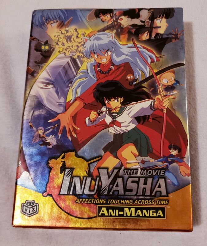 Rare Amazing Inuyasha Movie 1 Ani-Manga Book Set!! (A Must See!!)
