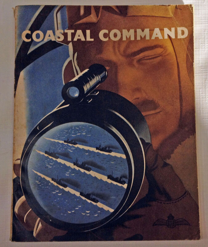 WW2 British RAF Magazine Coastal Command Battle Of The Seas 1939-1942