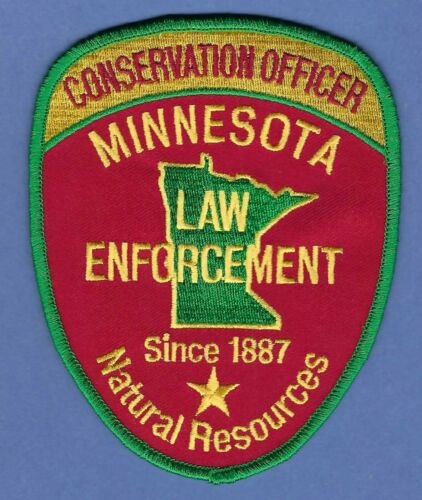 MINNESOTA STATE CONSERVATION LAW ENFORCEMENT SHOULDER PATCH SINCE 1887