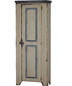 Chimney Jelly Cupboard Cabinet Primitive Reproduction Pine