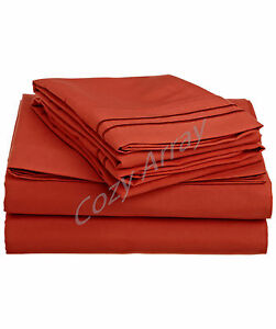 ULTA-SOFT-DEEP-POCKET-BED-SHEET-SET-STYLISH-SUMMER-COLORS-All-Sizes-Avail