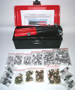 564 PC BLIND RIVET NUT,RIV NUT, NUTSERT, INSERT, NUT SERT TOOL KIT M3 TO M10