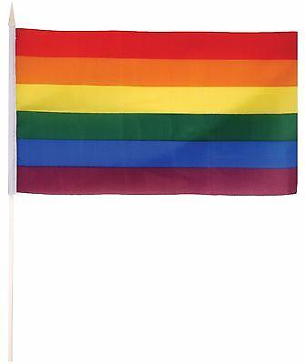 Regenbogen Pride, Karneval oder Mardi Gras Kostüm Verkleidung - Bogen Märchen Kostüme Zubehör