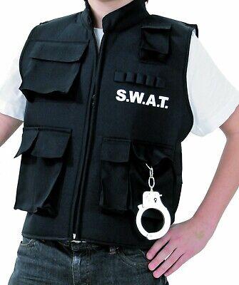 Kostüm SWAT Weste S.W.A.T. Polizei Sondereinsatz Herren Kinder Fasching Karneval (S W A T Kind Kostüme)