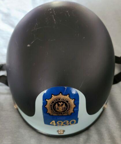 VINTAGE NYPD RIOT/MOTORCYCLE HELMET