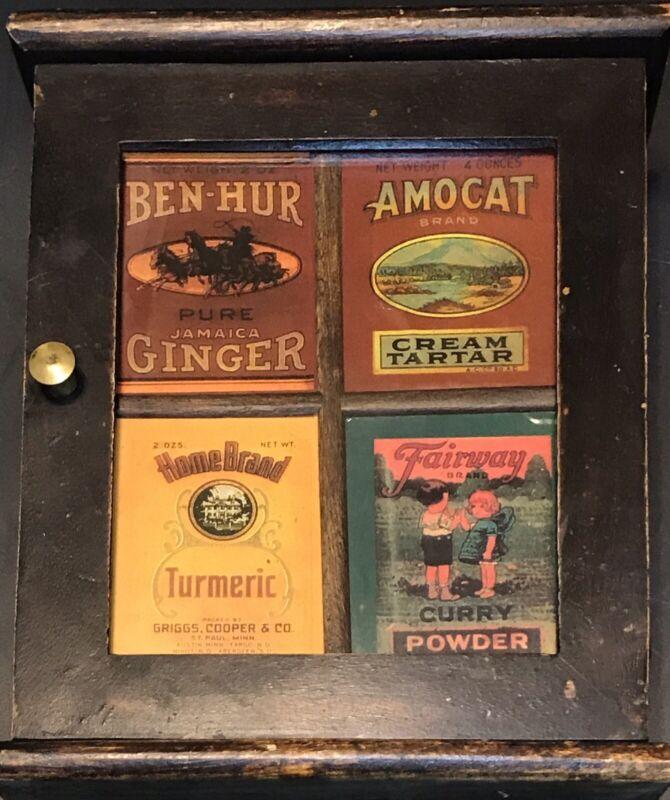 Vintage Spice Cabinet