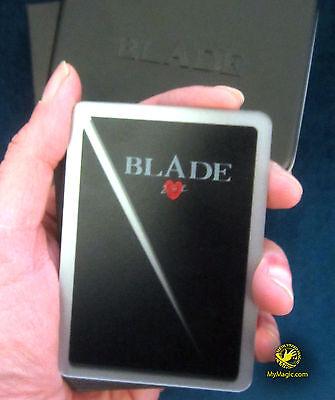 Black BLADE Playing Cards