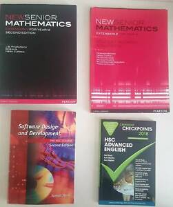Cheap HSC Textbooks in New Conditions (Varying prices)