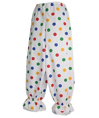 Clown Bloomers (Adults Size Children in Need Polka Dot Clown Bloomers Funny Dress-Up)