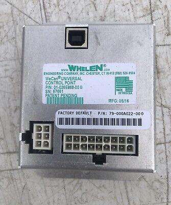 Whelen Lightbar Controller Control Point