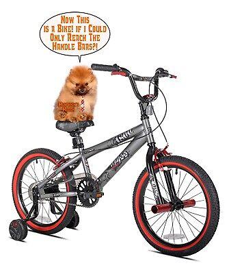 Boys Bike Kids Bikes Children Kid BMX Bicycles With Training Wheels 18 Inch