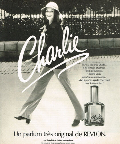 PUBLICITE-ADVERTISING-015-1975-REVLON-un-grand-parfum-femme-CHARLIE
