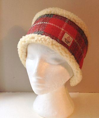 Harris Tweed Head Warmer / Headband / Ear Warmer - Fleece Lined  Fleece Ear Warmer