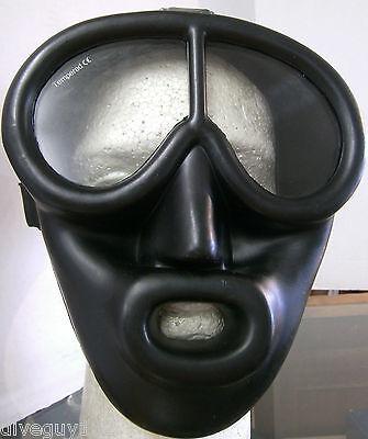 как выглядит Маска для подводного плавания Full Face Scuba Diving Dive Mask Snorkeling BK/BK FM61 фото