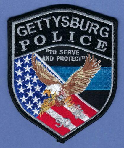 GETTYSBURG SOUTH DAKOTA POLICE SHOULDER PATCH NEW STYLE