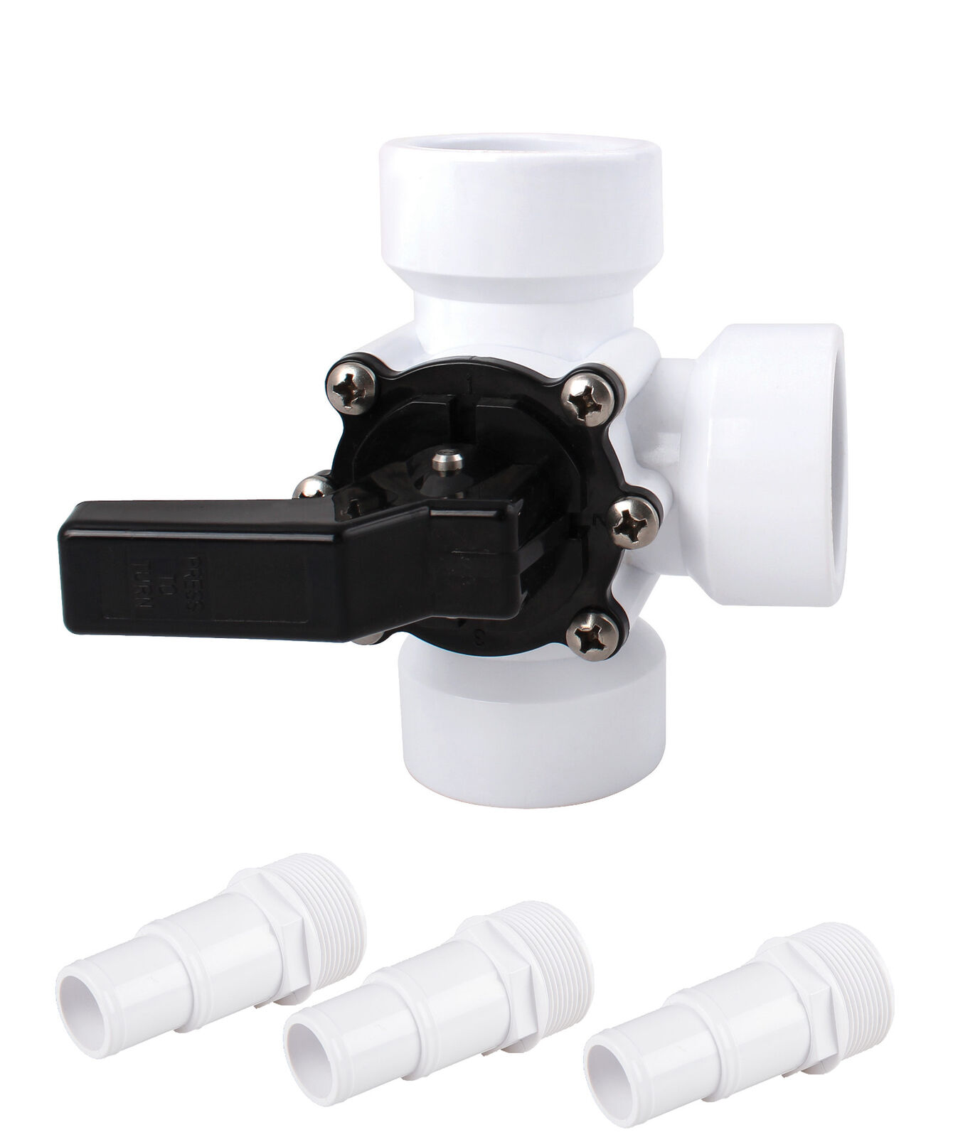 3 wegeventil bypass adapter pool pumpe. Black Bedroom Furniture Sets. Home Design Ideas