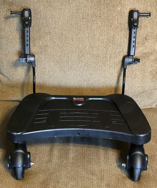 Britax Stroller Board 2nd Child Ride On Attachment Black Stand Up 3-Wheel - NICE