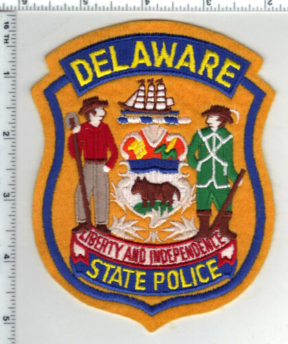 State Police (Delaware) 4th Issue Shoulder Patch