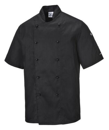 Kochjacke Bäckerjacke Kochkleidung Koch Gastronomiekleidung Berufsbekleidung