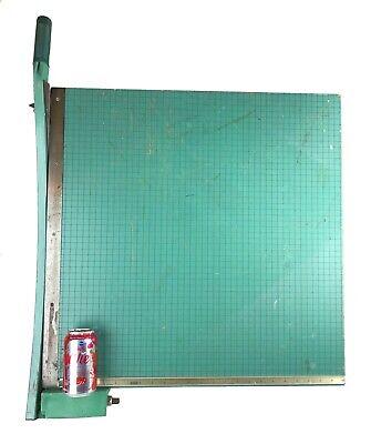 Vtg Huge Photo Materials Premier Spring Arm Heavy Duty Paper Cutter 25 X 24