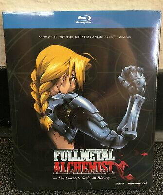 Fullmetal Alchemist: The Complete Series (Blu-ray). Brand New w/ Slip Cover.US