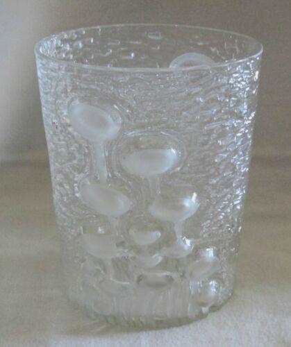 Oiva Toikka, Scandinavian Glass, Finland, IITTALA, Jellyfish Vase, Mid-Century