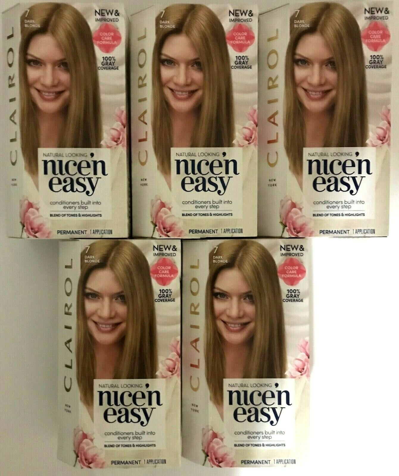 Clairol Nice 'n Easy, 7/106A Natural Dark Blonde, Permanent