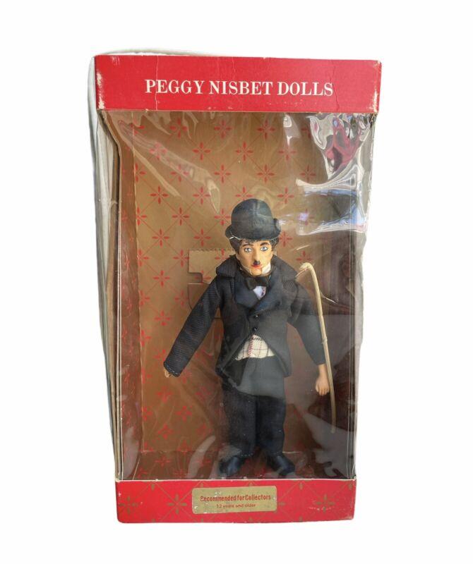 Vintage English Doll Peggy Nisbet   Charlie Chaplin P755 w/ Cane & Box