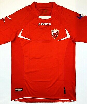Legea RED STAR BELGRADE 2012/13 L Third Football Shirt Soccer Jersey Top Kit image