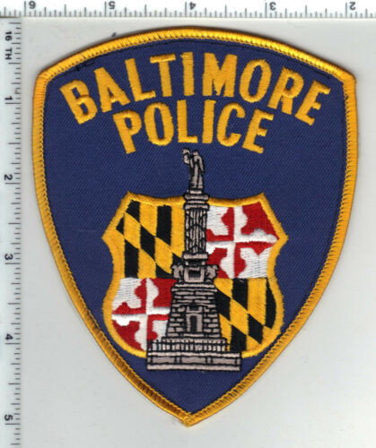 Baltimore Police (Maryland) Shoulder Patch - new from a wall display