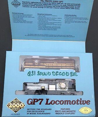 PROTO 2000 23587 GP7 MEC #571 QSI SOUND DIESEL LOCOMOTIVE for sale  New York