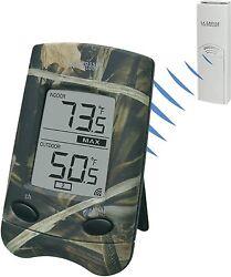 WS-9002U-CAMO La Crosse Technology Wireless Thermometer with TX6U Sensor NIB